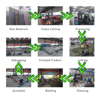 Reinforcing Mesh Production Welding Machine product processing