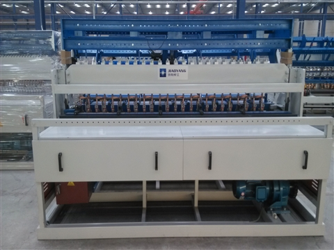 Building mesh panel welding machine