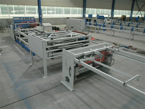 Animal cages welding production line