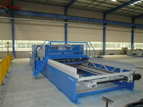 Steel wire mesh welded machine advantage