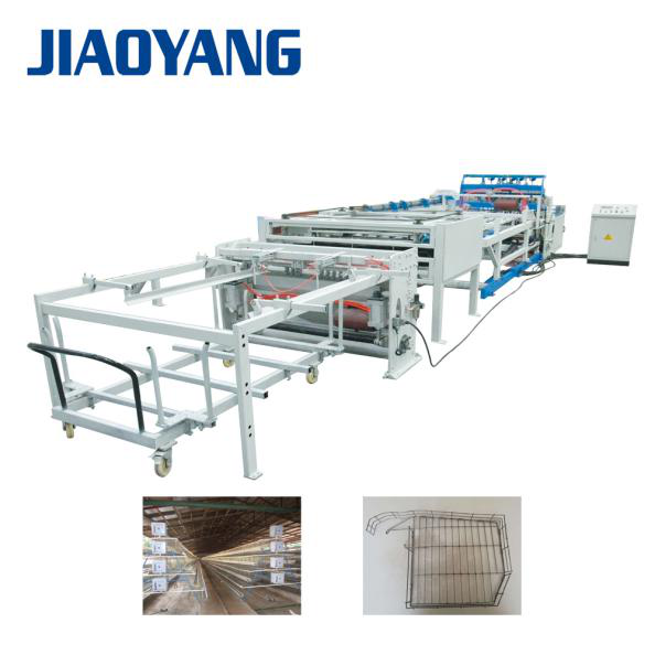 poultry breed cage mesh welding machine production line exporter