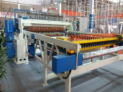 round steel wire mesh welding production line