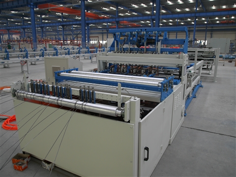 Animal cages production line