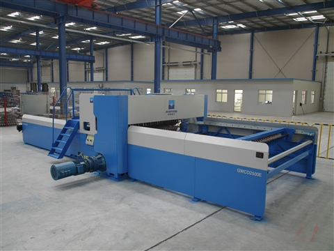 round bar wire mesh welding production line