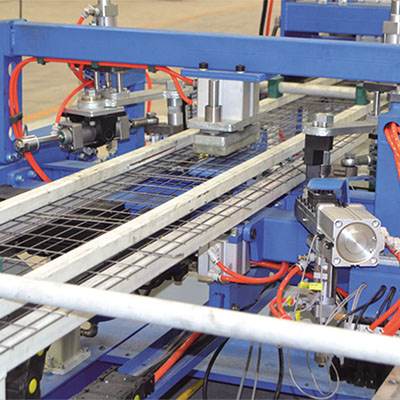 Barrier mesh machine exporter