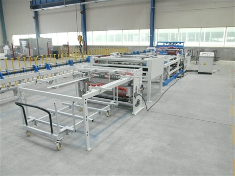 Animal cage welding production line