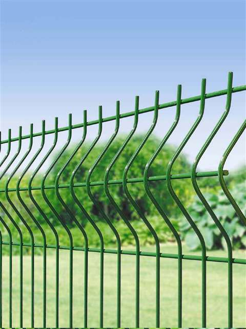 Fence mesh classification