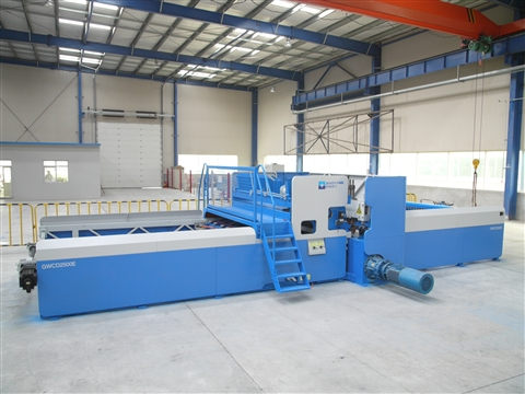 Rebar steel wire mesh welding production line