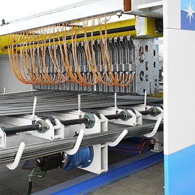China quality reinforced steel mesh machine exporter