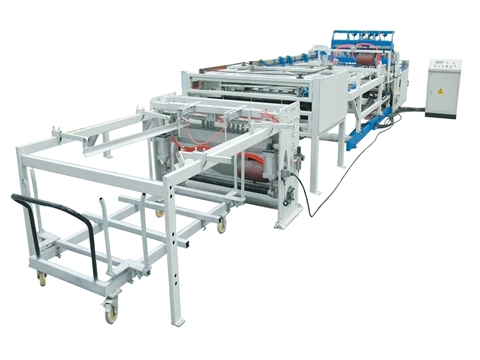 Poultry cage welded mesh machine shipped to India