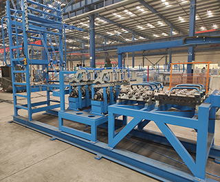 Jiaoyang spotless mental steel rebar truss making machine