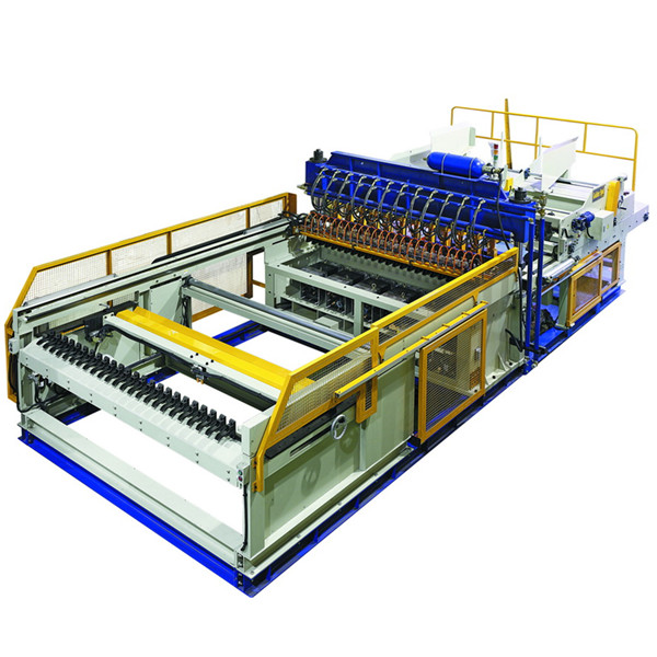 What are the specific advantages of the automatic construction steel mesh welding machine